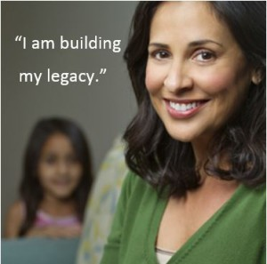 I am building my legacy for my family with the help of business coaching.